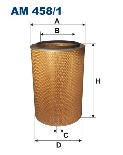 Filtr powietrza AM 458/1 [AM4581] FILTRON