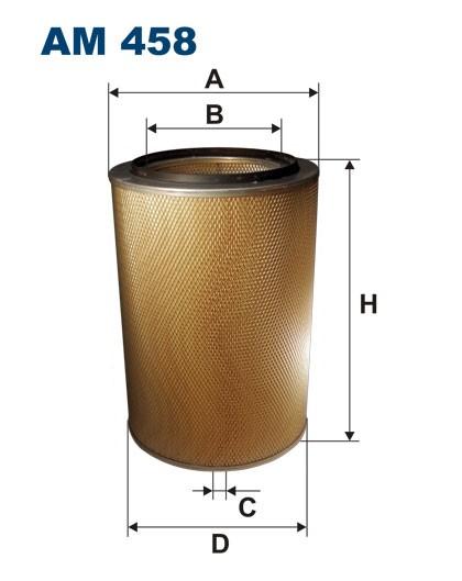 Filtr powietrza AM 458 [AM458] FILTRON