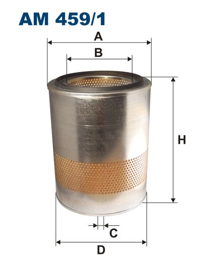 Filtr powietrza AM 459/1 [AM4591] FILTRON