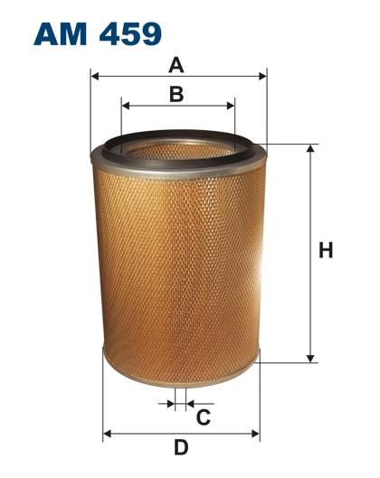 Filtr powietrza AM 459 [AM459] FILTRON