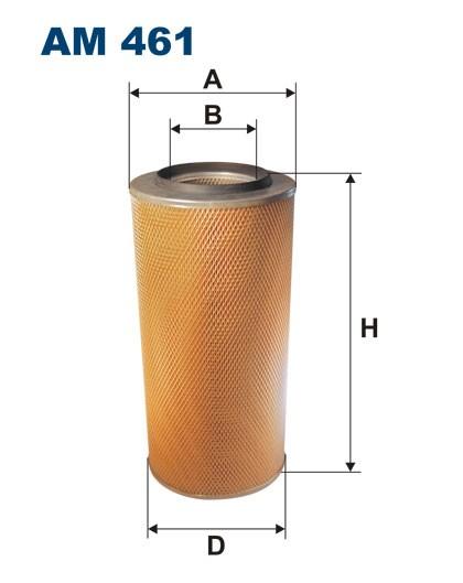 Filtr powietrza AM 461 [AM461] FILTRON