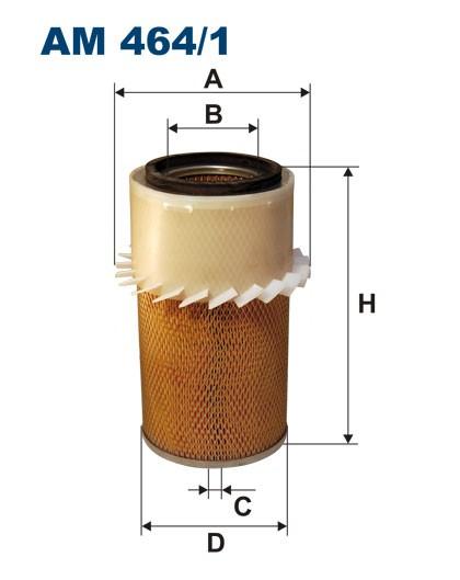 Filtr powietrza AM 464/1 [AM4641] FILTRON