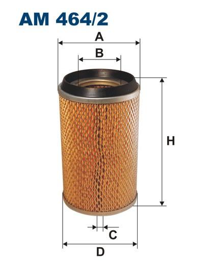 Filtr powietrza AM 464/2 [AM4642] FILTRON