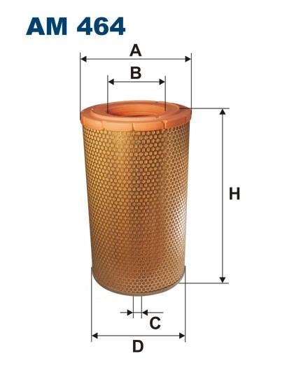 Filtr powietrza AM 464 [AM464] FILTRON