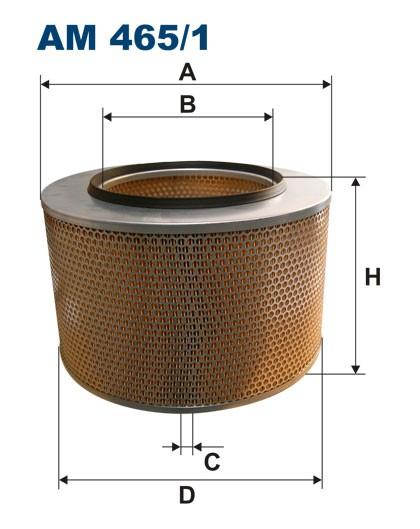Filtr powietrza AM 465/1 [AM4651] FILTRON