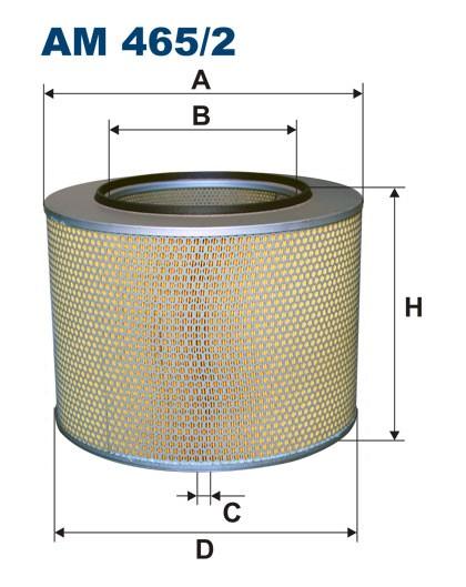 Filtr powietrza AM 465/2 [AM4652] FILTRON