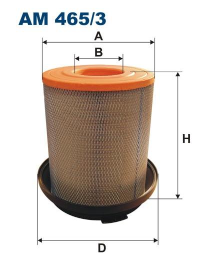 Filtr powietrza AM 465/3 [AM4653] FILTRON
