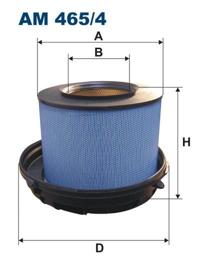 Filtr powietrza AM 465/4 [AM4654] FILTRON
