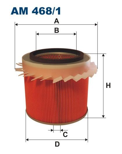 Filtr powietrza AM 468/1 [AM4681] FILTRON