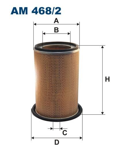 Filtr powietrza AM 468/2 [AM4682] FILTRON