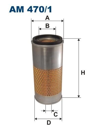 Filtr powietrza AM 470/1 [AM4701] FILTRON