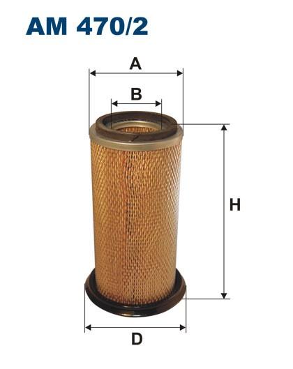 Filtr powietrza AM 470/2 [AM4702] FILTRON