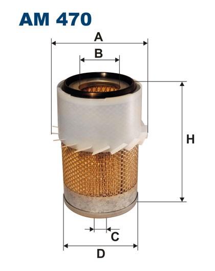 Filtr powietrza AM 470 [AM470] FILTRON