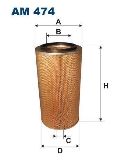 Filtr powietrza AM 474 [AM474] FILTRON