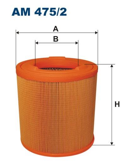 Filtr powietrza AM 475/2 [AM4752] FILTRON