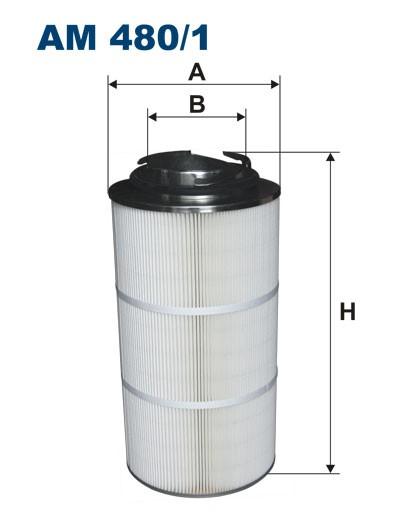 Filtr powietrza AM 480/1 [AM4801] FILTRON