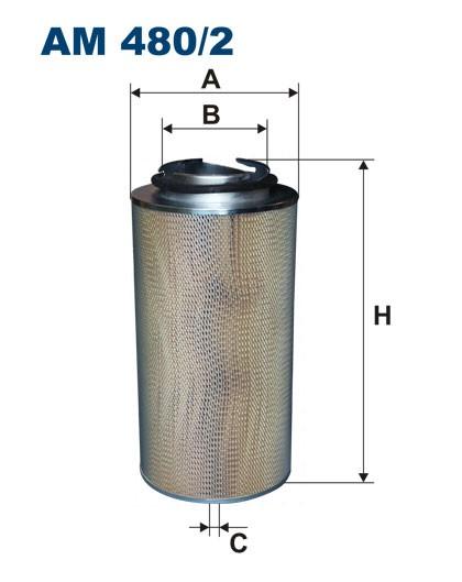 Filtr powietrza AM 480/2 [AM4802] FILTRON