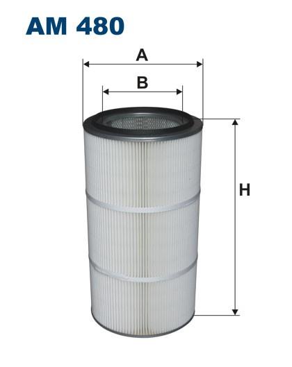 Filtr powietrza AM 480.10 [AM480.10] FILTRON