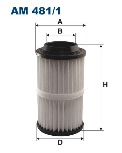 Filtr powietrza AM 481/1 [AM4811] FILTRON