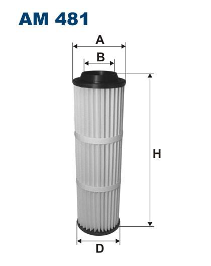 Filtr powietrza AM 481 [AM481] FILTRON