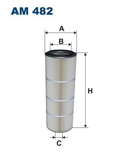 Filtr powietrza AM 482 [AM482] FILTRON