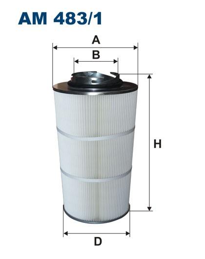 Filtr powietrza AM 483/1 [AM4831] FILTRON
