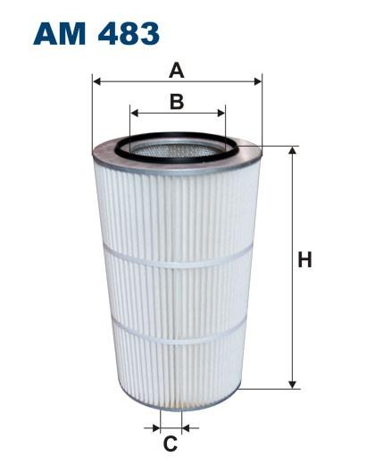 Filtr powietrza AM 483 [AM483] FILTRON