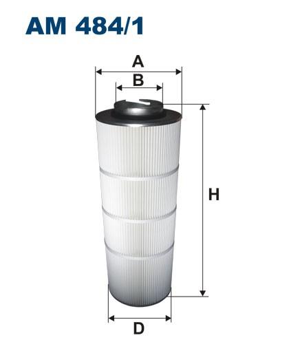 Filtr powietrza AM 484/1 [AM4841] FILTRON