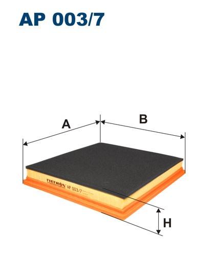 Filtr powietrza AP 003/7 [AP0037] FILTRON
