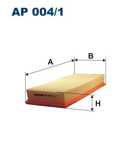 Filtr powietrza AP 004/1 [AP0041] FILTRON