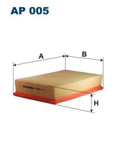 Filtr powietrza AP 005 [AP005] FILTRON