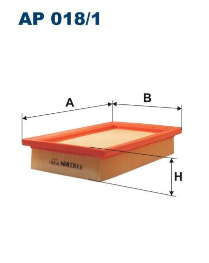 Filtr powietrza AP 018/1 [AP0181] FILTRON