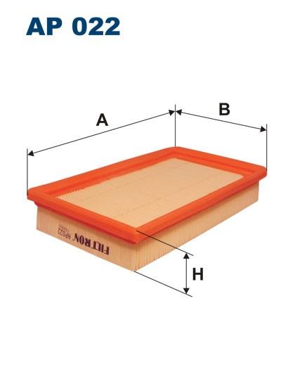 Filtr powietrza AP 022 [AP022] FILTRON