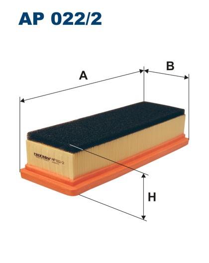 Filtr powietrza AP 022/2 [AP0222] FILTRON