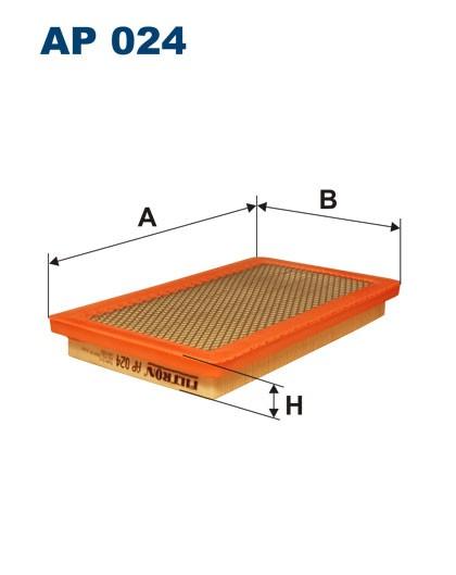 Filtr powietrza AP 024 [AP024] FILTRON