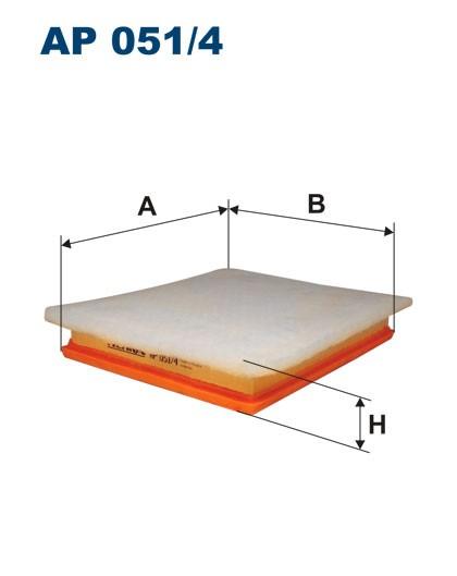 Filtr powietrza AP 051/4 [AP0514] FILTRON