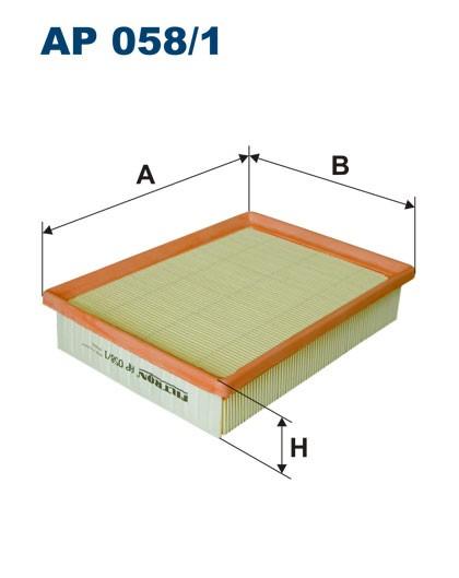 Filtr powietrza AP 058/1 [AP0581] FILTRON