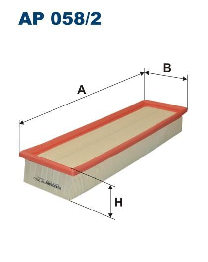 Filtr powietrza AP 058/2 FILTRON [AP0582]