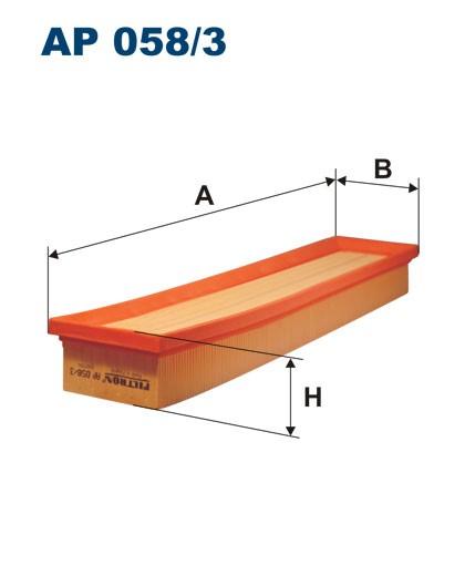 Filtr powietrza AP 058/3 [AP0583] FILTRON