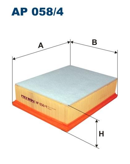 Filtr powietrza AP 058/4 [AP0584] FILTRON
