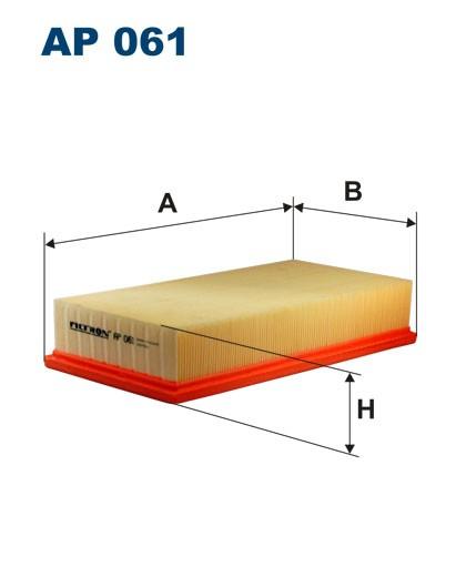 Filtr powietrza AP 061 [AP061] FILTRON