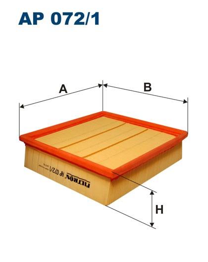 Filtr powietrza AP 072 [AP072] FILTRON