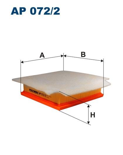Filtr powietrza AP 072/1 [AP0721] FILTRON
