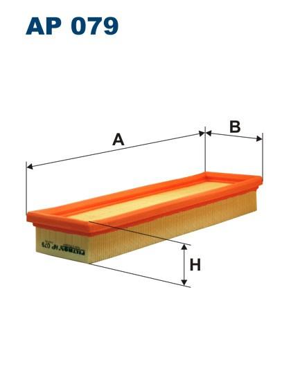 Filtr powietrza AP 079 [AP079] FILTRON