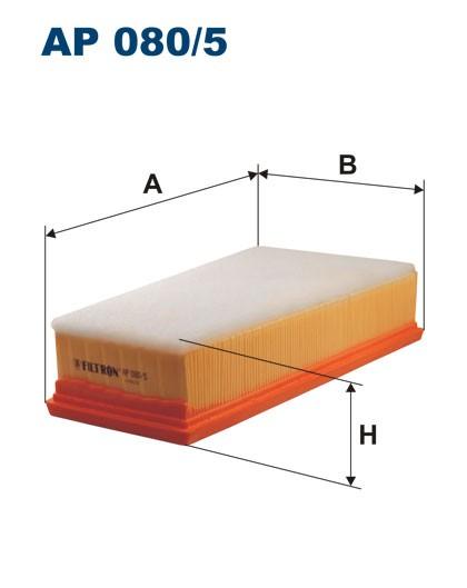 Filtr powietrza AP 080/5 [AP0805] FILTRON