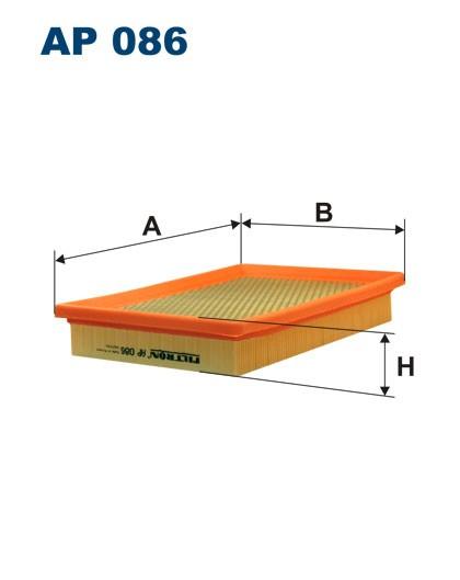 Filtr powietrza AP 086 [AP086] FILTRON