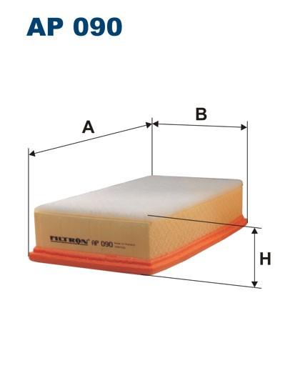 Filtr powietrza AP 090 [AP090] FILTRON