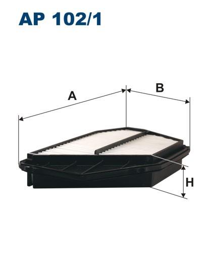 Filtr powietrza AP 102/1 [AP1021] FILTRON