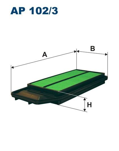 Filtr powietrza AP 102/3 [AP1023] FILTRON