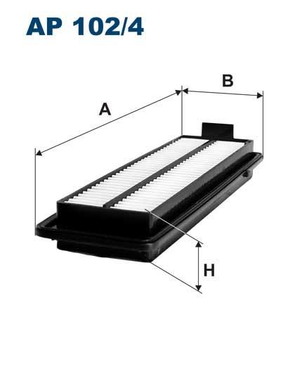 Filtr powietrza AP 102/4 [AP1024] FILTRON